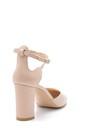5638163318 Kadın Deri Topuklu Ayakkabı