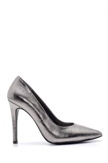 Gümüş Kadın Metalik Stiletto 5638163430