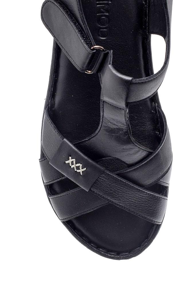 5638162250 Kadın Deri Sandalet