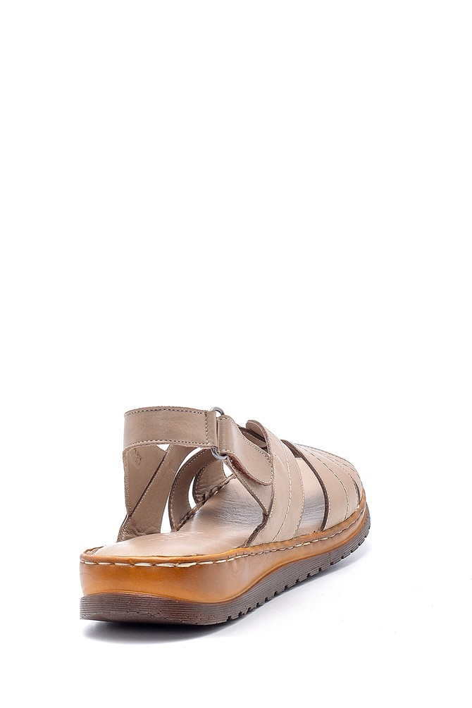 5638162269 Kadın Deri Sandalet