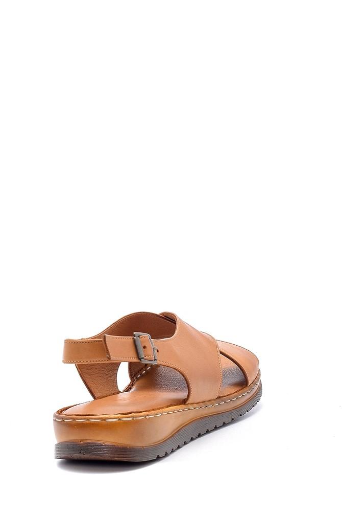 5638162282 Kadın Deri Sandalet