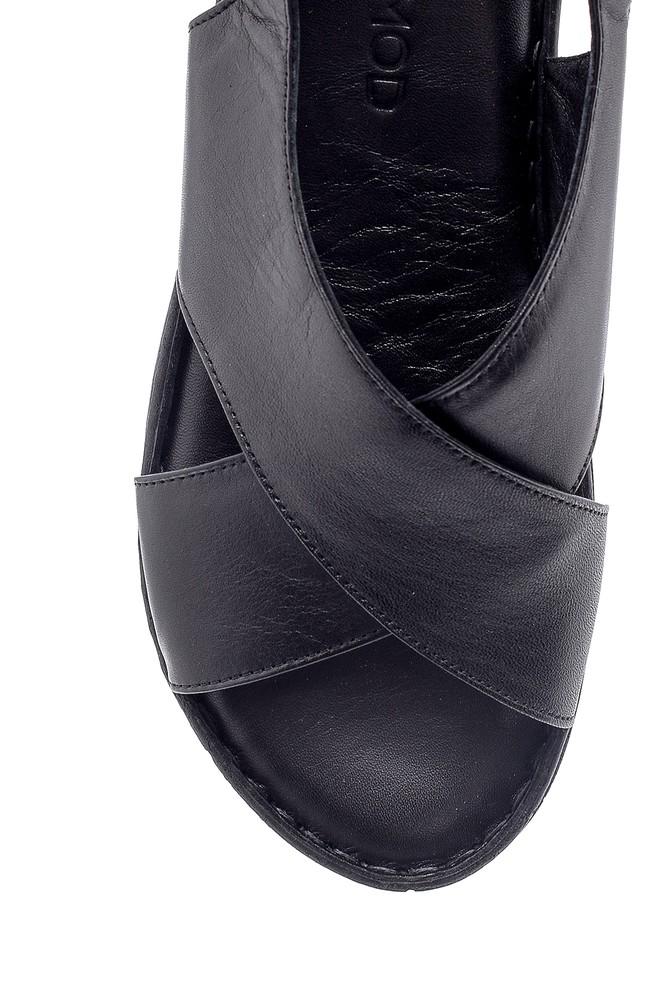 5638162292 Kadın Deri Sandalet