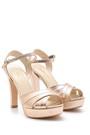 5638175362 Kadın Topuklu Sandalet