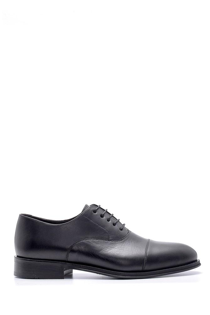 Siyah Erkek Deri Klasik Ayakkabı 5638176240