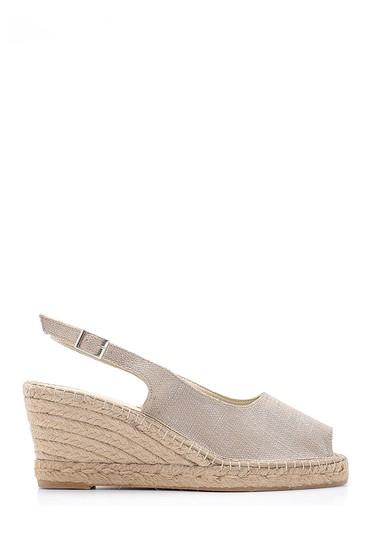 Vizon Kadın Dolgu Topuklu Sandalet 5638184083