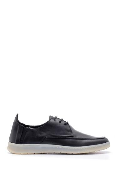 Siyah Erkek Deri Casual Ayakkabı 5638127501