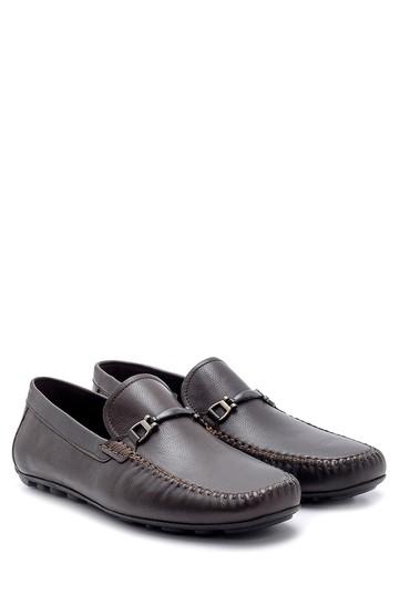 Kahverengi Erkek Deri Loafer 5638155079