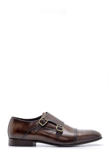 Kahverengi Erkek Deri Klasik Ayakkabı 5638156290