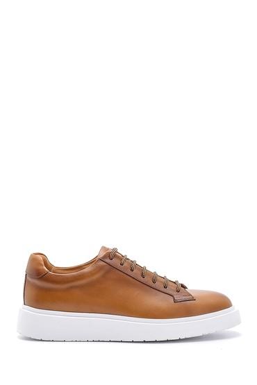 Kahverengi Erkek Deri Sneaker 5638158053