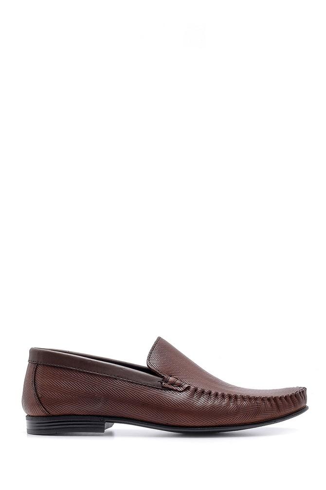 Kahverengi Erkek Deri Casual Loafer 5638160980
