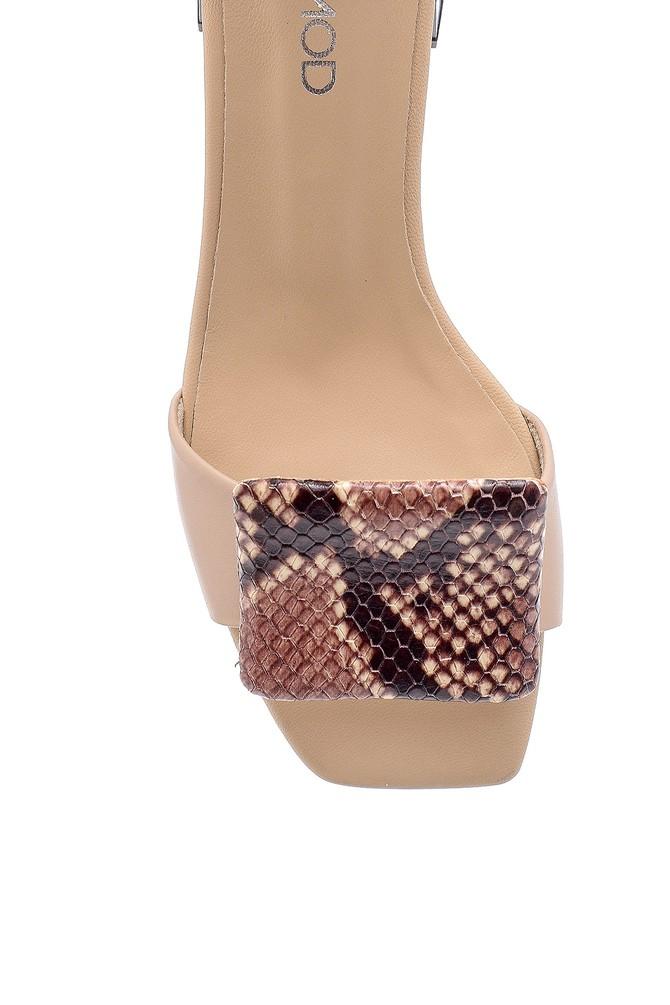 5638161742 Kadın Deri Sandalet