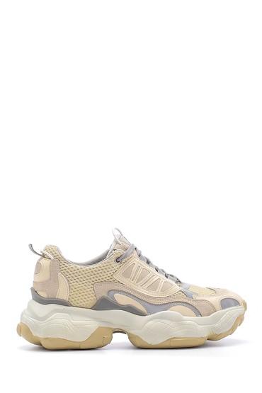 Bej Kadın Sneaker 5638175137