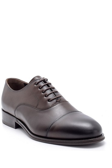 Kahverengi Erkek Deri Klasik Ayakkabı 5638176230
