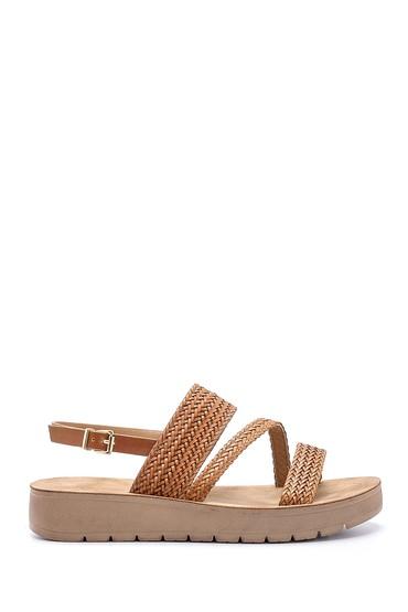 Kahverengi Kadın Sandalet 5638132477