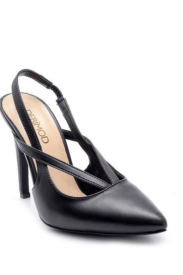 Siyah Kadın Topuklu Ayakkabı 5638181934