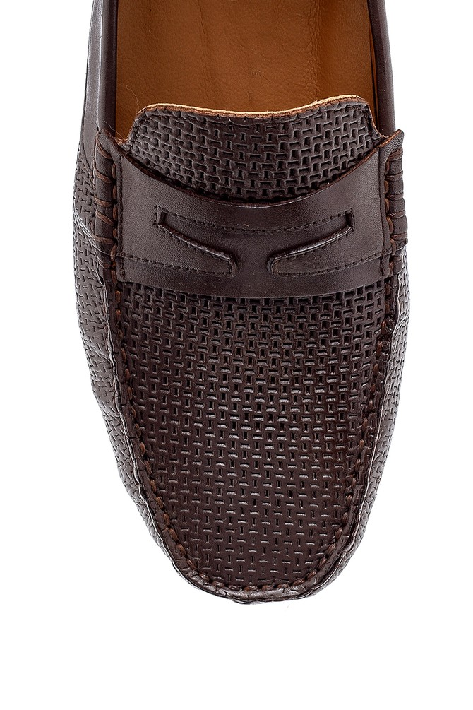 5638127567 Erkek Deri Loafer