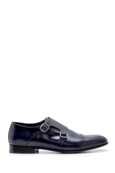 Lacivert Erkek Deri Klasik Ayakkabı 5638156288