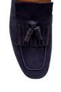 5638157860 Erkek Nubuk Püskül Detaylı Loafer