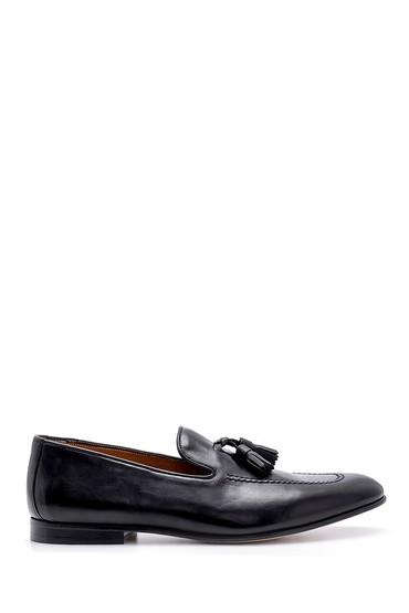 Siyah Erkek Deri Klasik Loafer 5638157893