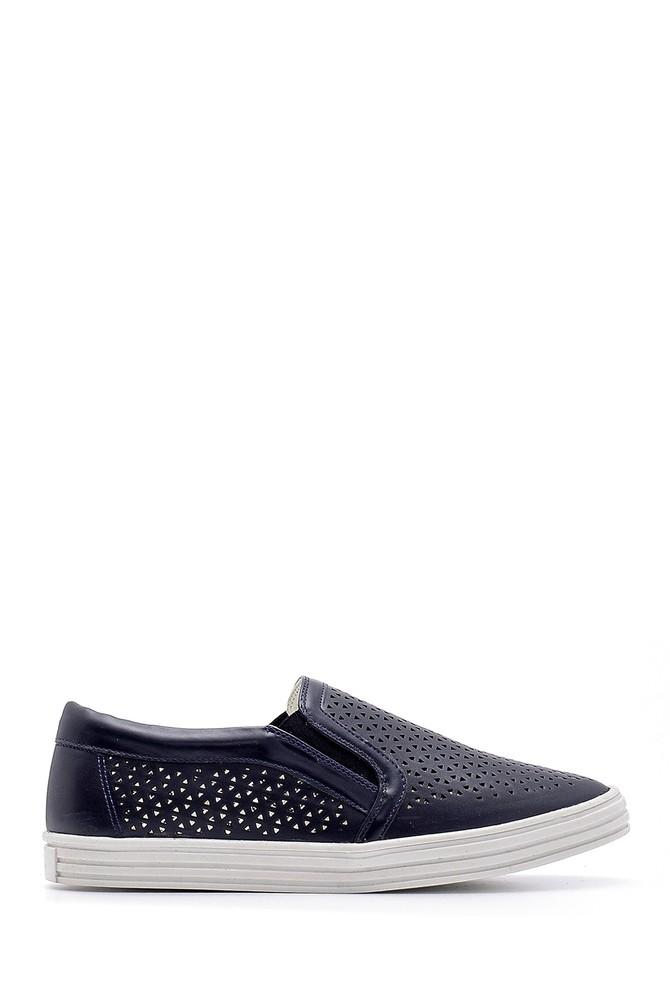 Lacivert Kadın Ayakkabı 5638121489