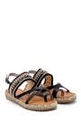 5638126071 Kadın İşlemeli Sandalet