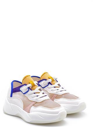 Kadın Şeffaf Detaylı Sneaker