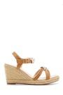 5638128877 Kadın Dolgu Topuklu Sandalet