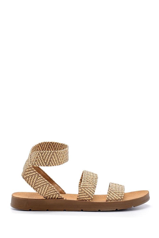 Bej Kadın Sandalet 5638132511