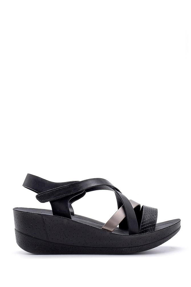 Siyah Kadın Sandalet 5638132576
