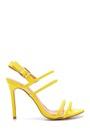 5638133862 Kadın Şeffaf Bantlı Topuklu Sandalet