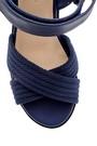 5638143115 Kadın Dolgu Topuklu Sandalet