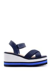 5638143109 Kadın Dolgu Topuklu Sandalet