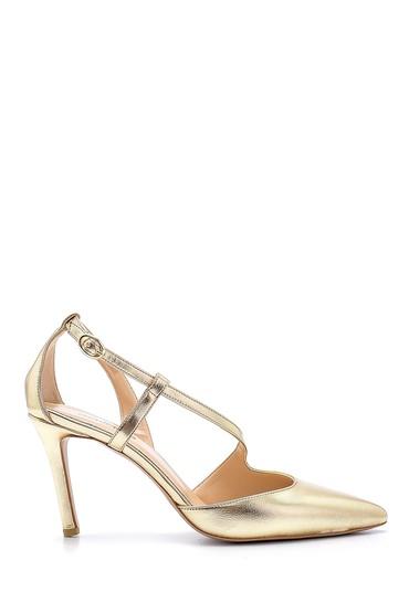 Sarı Kadın Topuklu Ayakkabı 5638181910