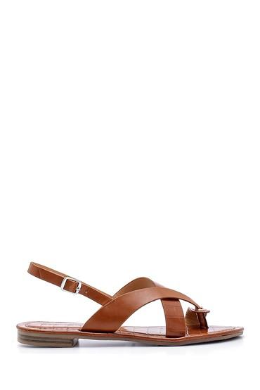 Kahverengi Kadın Sandalet 5638131788