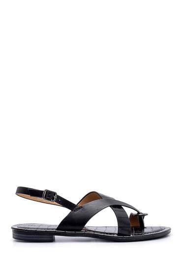 Siyah Kadın Sandalet 5638131796