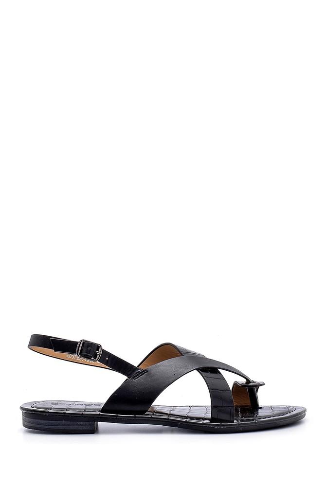 Siyah Kadın Sandalet 5638131806