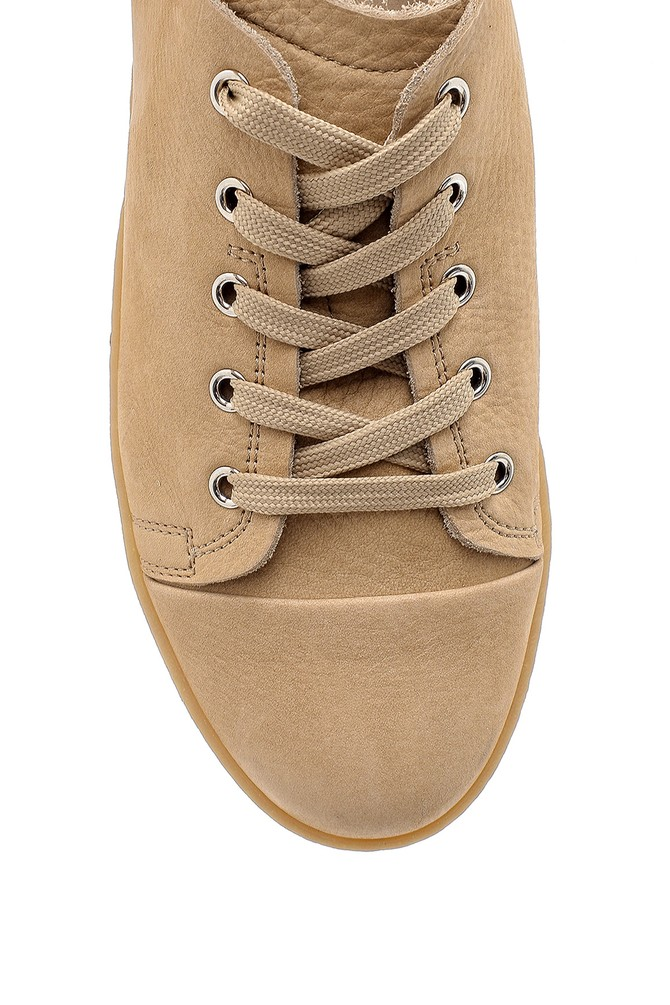 5638143078 Erkek Nubuk Sneaker