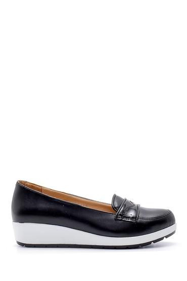 Siyah Kadın Yüksek Tabanlı Ayakkabı 5638121426