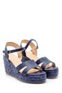 5638128852 Kadın Dolgu Topuklu Sandalet