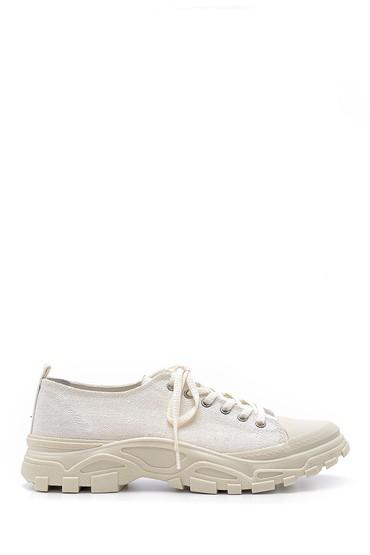 Beyaz Kadın Sneaker 5638202088