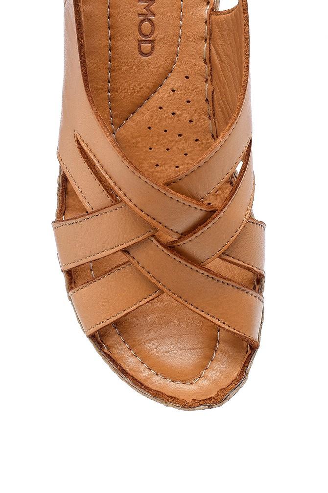5638203071 Kadın Deri Sandalet