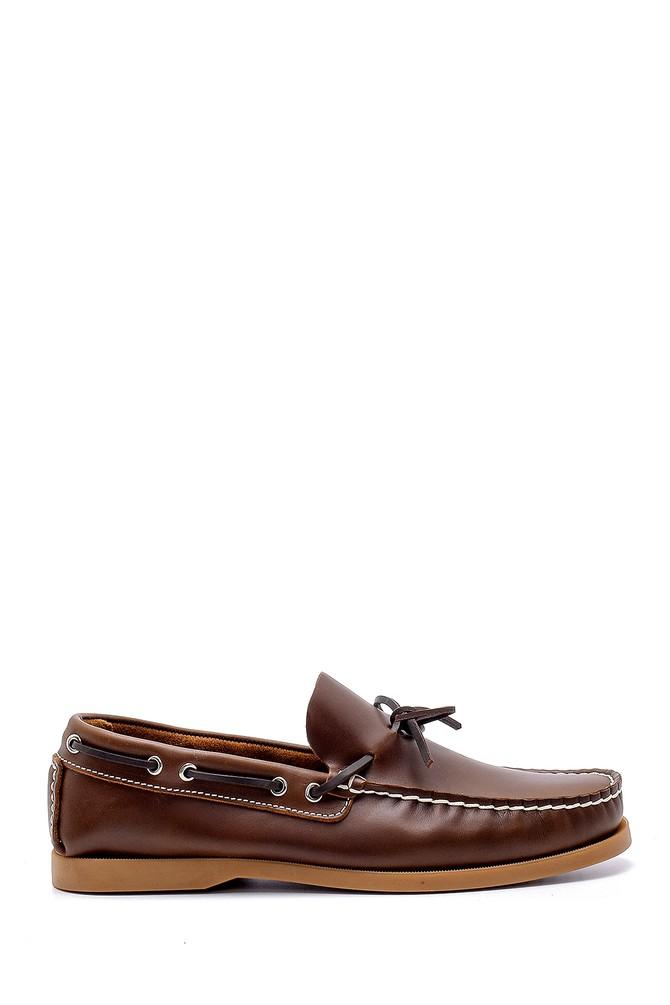 Kahverengi Erkek Deri Casual Loafer 5638145211