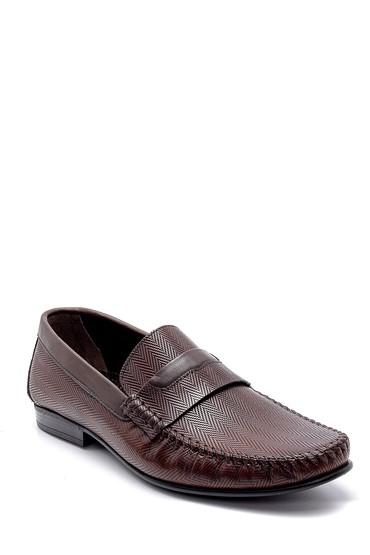 Kahverengi Erkek Deri Loafer 5638160957