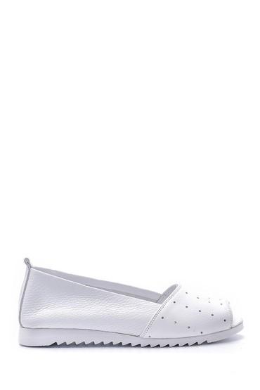 Beyaz Kadın Deri Ayakkabı 5638151706