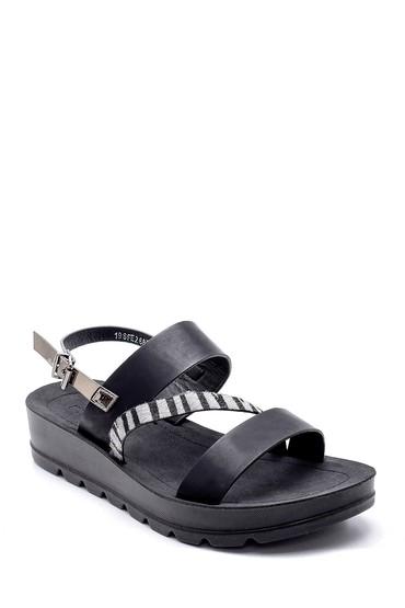 Siyah Kadın Sandalet 5638125021