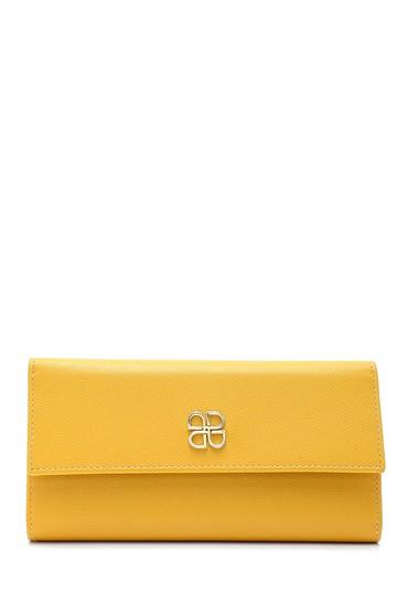 Sarı Kadın Cüzdan 5638198553