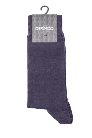 Gri Erkek Bambu Çorap 5638159726