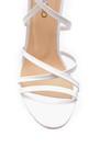 5638163079 Kadın Deri Topuklu Sandalet