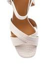 5638132595 Kadın Topuk Detaylı Sandalet