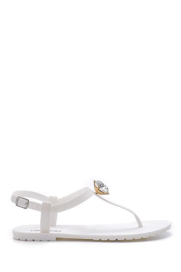 Beyaz KADIN SANDALET(M20S1440-4) 5638129532